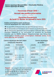 Microsoft Word - INFOS Horaires Vacances PUBLICS PRIORITAIRES.do
