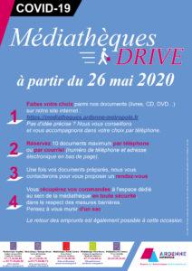 Médiathèque Drive